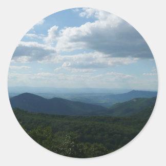 アパラチア山脈II Shenandoah ラウンドシール
