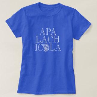 アパラチコーラ川フロリダのカキのデザイン Tシャツ