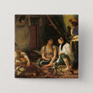 アパートのアルジェ、1834年の女性 5.1CM 正方形バッジ