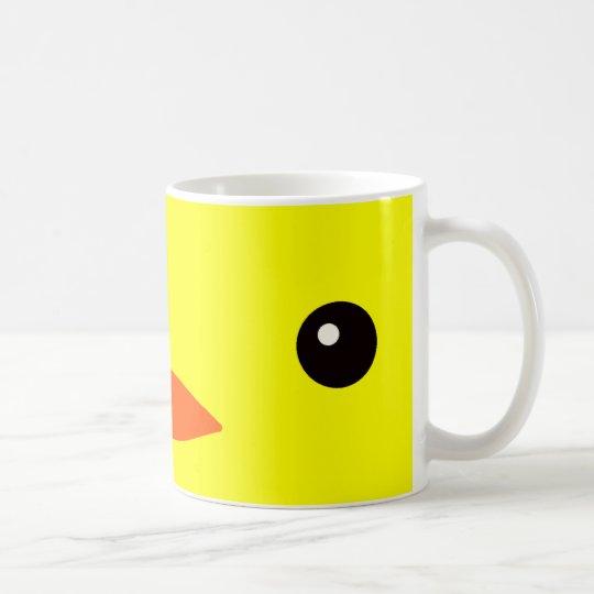 アヒルあるいはヒヨコ コーヒーマグカップ