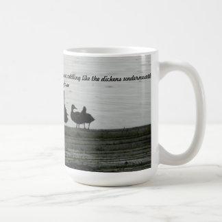 アヒルのようであって下さい コーヒーマグカップ