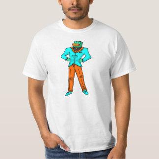 アヒルのサイズの大人M -アヒル及びNewts Tシャツ