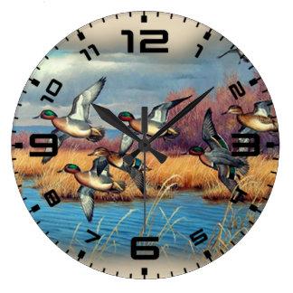 アヒルの季節 ラージ壁時計