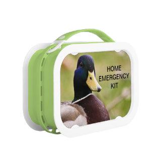 アヒルの家の緊急のキットのお弁当箱 ランチボックス