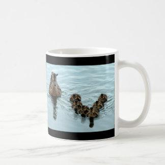 アヒルの形成 コーヒーマグカップ