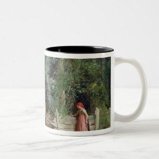 アヒルの池 ツートーンマグカップ