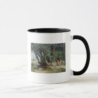 アヒルの池 マグカップ