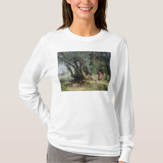 アヒルの池 Tシャツ