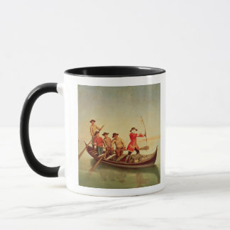アヒルの狩り マグカップ