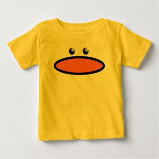 アヒルの顔 ベビーTシャツ
