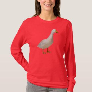 アヒルのlongsleeves tシャツ