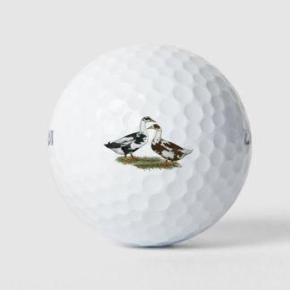 アヒルアンコーナは組み合わせます ゴルフボール