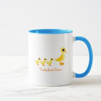 アヒル家族 マグカップ