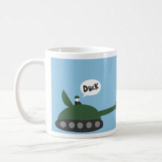 アヒル、アヒル無し コーヒーマグカップ