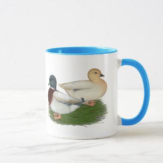 アヒル:  パステル呼出し マグカップ