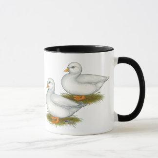 アヒル:  白呼出し マグカップ