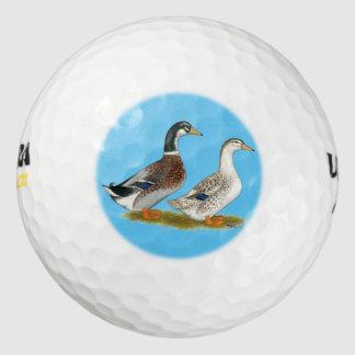 アヒル:  銀製のAppleyard ゴルフボール