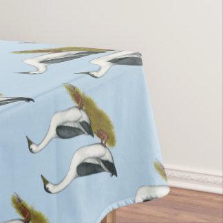 アヒル:  青いカササギ テーブルクロス