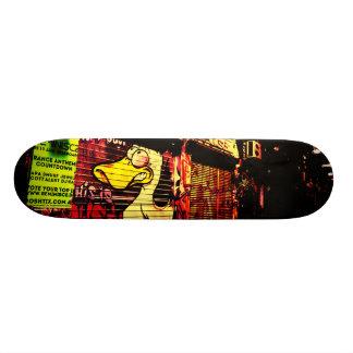 アヒルnの操業 21.6cm オールドスクールスケートボードデッキ