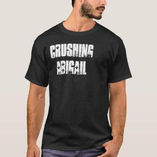 アビゲイルをロゴ押しつぶすことは衰退しました Tシャツ