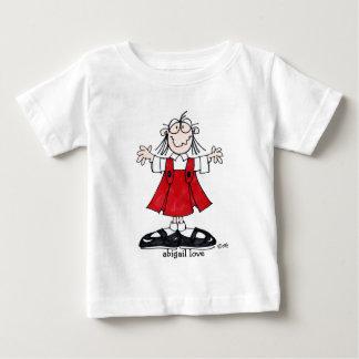 アビゲイル愛幼児のTシャツ ベビーTシャツ
