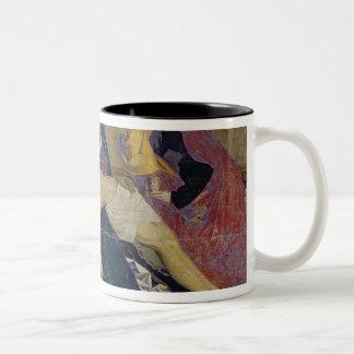 アビニョンのピエタ1450-60年 ツートーンマグカップ