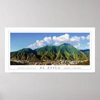 アビラの国立公園の広いパノラマ式ポスター- ポスター