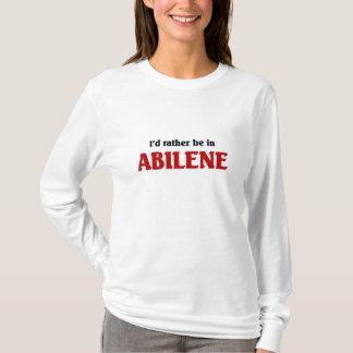 アビリンにむしろあって下さい Tシャツ