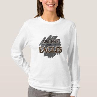 アビリンの高等学校イーグルス-アビリン、TX Tシャツ