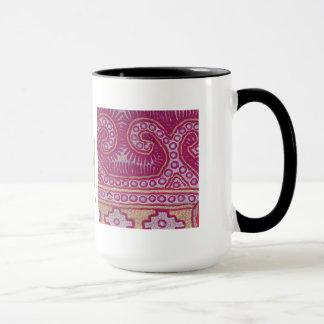 アフガニの織物の残り2 マグカップ