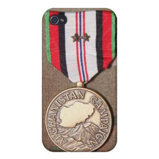 アフガニスタンのキャンペーンメダル iPhone 4 COVER