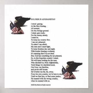 アフガニスタンの兵士 ポスター