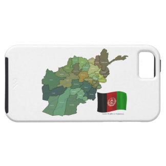 アフガニスタンの地図そして旗 iPhone SE/5/5s ケース
