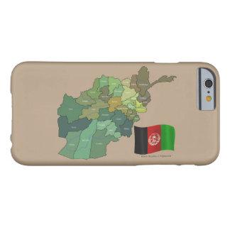 アフガニスタンの旗そして地図 BARELY THERE iPhone 6 ケース