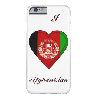 アフガニスタンの旗 BARELY THERE iPhone 6 ケース
