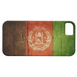 アフガニスタンの木製の旗; アフガニスタン iPhone SE/5/5s ケース