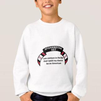 アフガニスタンの獣医-私はI事実で満足です スウェットシャツ