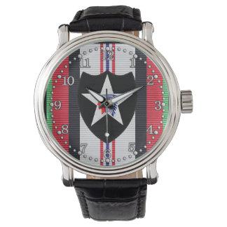 アフガニスタンの第2歩兵部隊の腕時計 腕時計