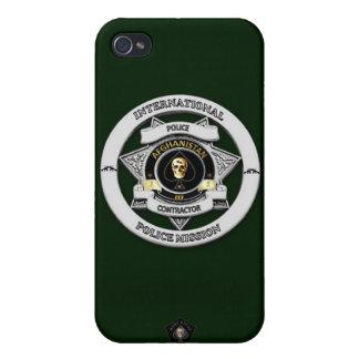 アフガニスタンの警察ミッションの電話箱 iPhone 4 CASE