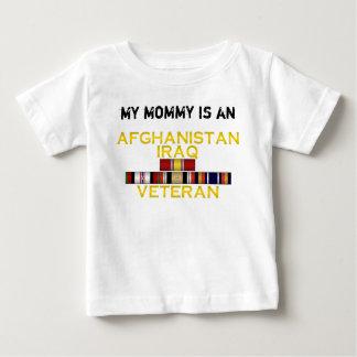 アフガニスタン及びイラクの獣医、私のお母さん ベビーTシャツ