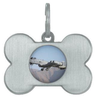 アフガニスタンA-10の離陸 ペットネームタグ