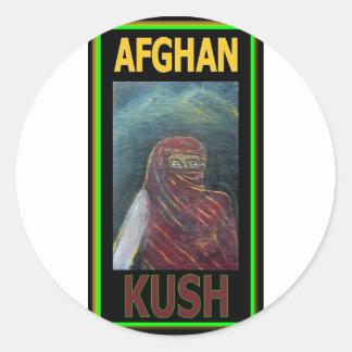 アフガニスタンKUSH ラウンドシール
