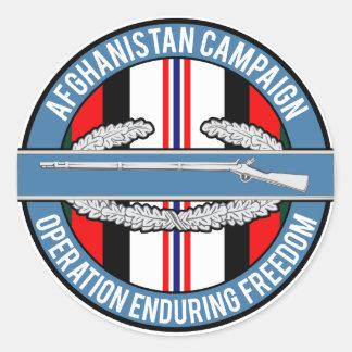 アフガニスタンOEF CIB ラウンドシール