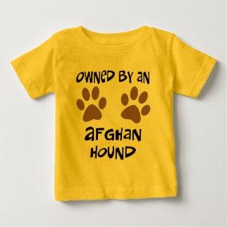 アフガンハウンドによって所有される ベビーTシャツ