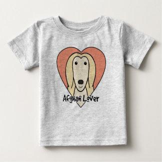 アフガンハウンドの恋人 ベビーTシャツ