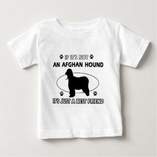 アフガンハウンドの親友のデザイン ベビーTシャツ