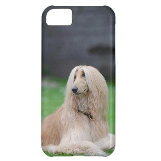 アフガンハウンド犬の写真のiphone 5cの場合 iPhone5Cケース