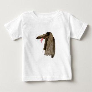 アフガンハウンド、贅沢なfernandes ベビーTシャツ