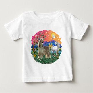 アフガンハウンド(brindleクリーム) ベビーTシャツ