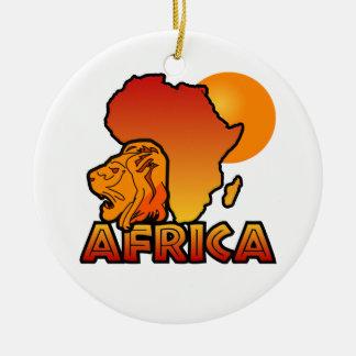 アフリカのオーナメント セラミックオーナメント